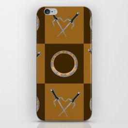Xena Color Block iPhone Skin