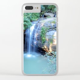 Serenity Falls Clear iPhone Case