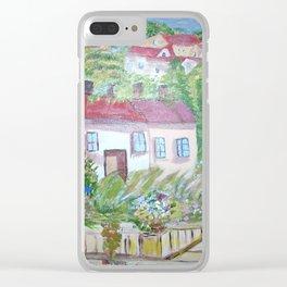 Lake Como Clear iPhone Case