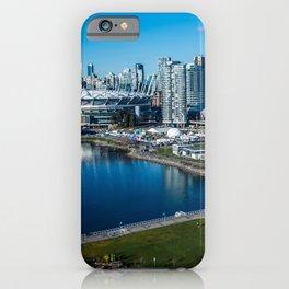 Vancouver Canada Bay Marinas Cities Building Pier Berth Houses iPhone Case