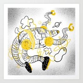 Le Robot Art Print