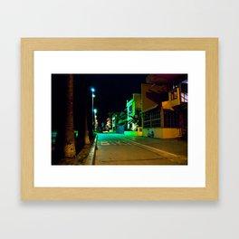 Venice Nights Framed Art Print