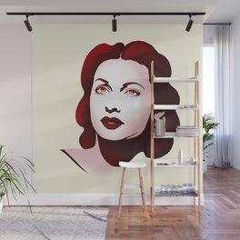 Hedy Lamarr Wall Mural