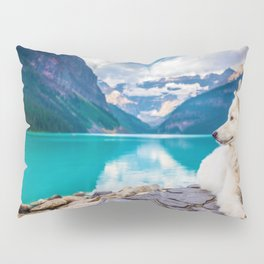 Wolf in Paradise (Color) Pillow Sham