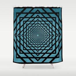 Eternally Blue Shower Curtain