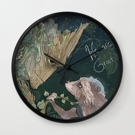 We Are Grt Wall Clock