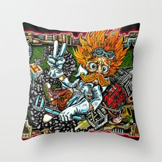 heimerdinger color variant Throw Pillow