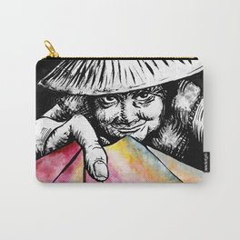 The Lottery Ticket Seller Carry-All Pouch