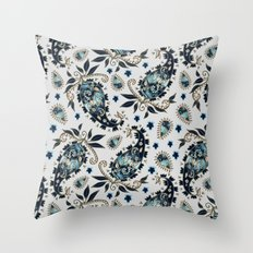 Paisley obsessions I Throw Pillow