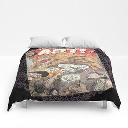 LOOK AT THAT ART! Comforters