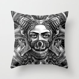 Winya No. 35 Throw Pillow
