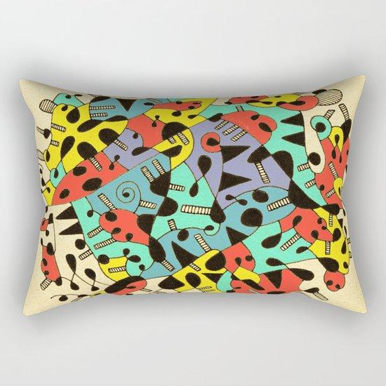 - age of the sun_02 - Rectangular Pillow