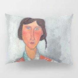 "Amedeo Modigliani ""Gypsy Woman with Baby"" Pillow Sham"