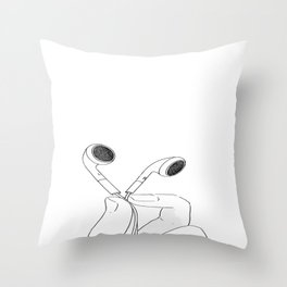 My Music Throw Pillow