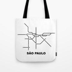 Metro - São Paulo Tote Bag