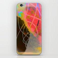 line is black iPhone & iPod Skin