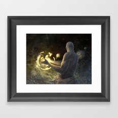 Forge of Worlds Framed Art Print