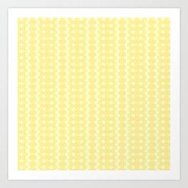 Honyecomb Art Print