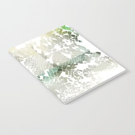 Fractured Silver Notebook