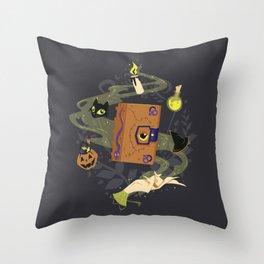 Booooook! (It's Just a Bunch of Hocus Pocus) Throw Pillow