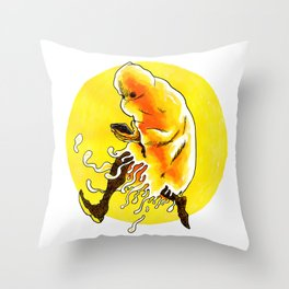 Everbody Ghosting Throw Pillow