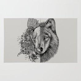 New Wolf (Half Life) Rug