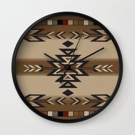American Native Pattern No. 170 Wall Clock