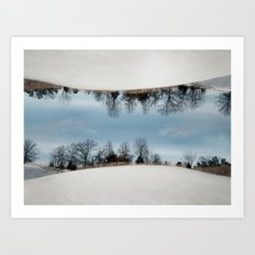 Hamilton, Illinois Art Print