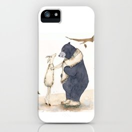 Winter gift for Bear iPhone Case