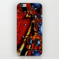 guardians iPhone & iPod Skins featuring Guardians by Robin Curtiss