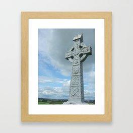 Celctic Cross Framed Art Print