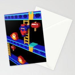 Inside Donkey Kong stage 4 Stationery Cards