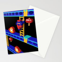 Inside Donkey Kong stage 4 Stationery Cards