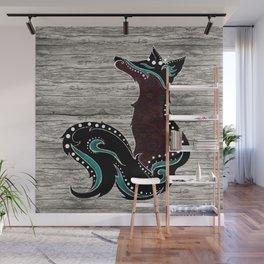 Bohemian Zorro Fox (left) Wall Mural
