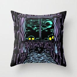 Night Night Throw Pillow