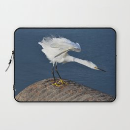 the egret dance Laptop Sleeve