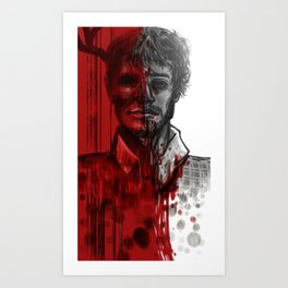 Please, someone help Will Graham  Art Print