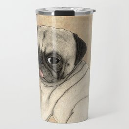 Toy dog; Pug Travel Mug