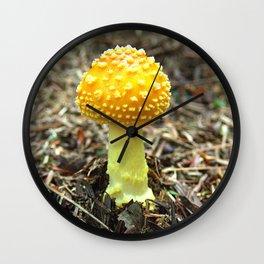 Mushroom O Wall Clock