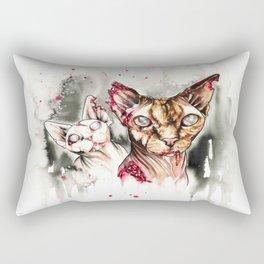 Zombie Sphynx Rectangular Pillow