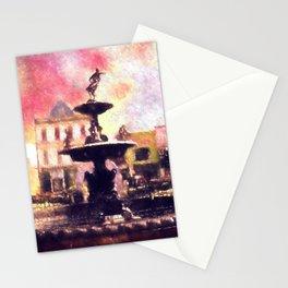 Fountain Square Park Stationery Cards
