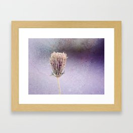 {don't let your dreams fade away} Framed Art Print