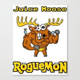 Juice Moose Canvas Print