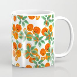 Fresh Orange Juice Pattern Coffee Mug