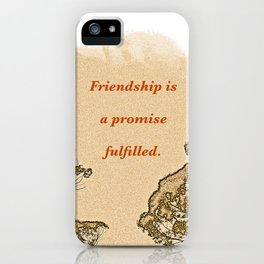 """Trees Of Catalina #2""/Simple Friendship iPhone Case"