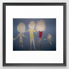 The Mitchells from Moosehead, Minnesota Framed Art Print