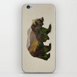 North American Brown Bear iPhone Skin