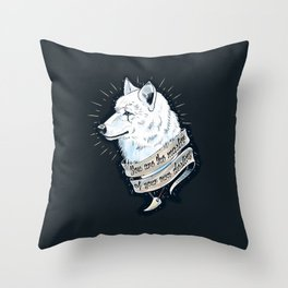 Wolf Protector Throw Pillow