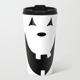 Happy Jack O'Lantern Face Travel Mug