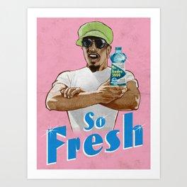 Mr. Fresh Art Print